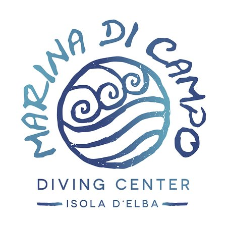 Marina di Campo, Taliansko: Marina dii Campo Diving Center logo