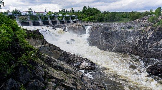 Grand Falls, Canada: La chute