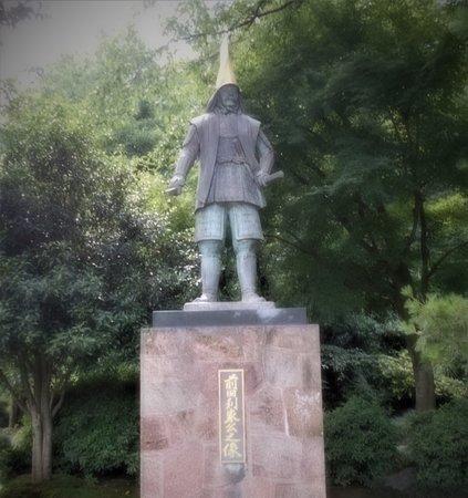 Sculpture of Toshiie Maeda