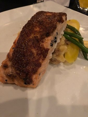 Salmon with TOO MUCH mustard