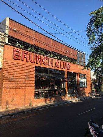 The Brunch Club on Legian Road