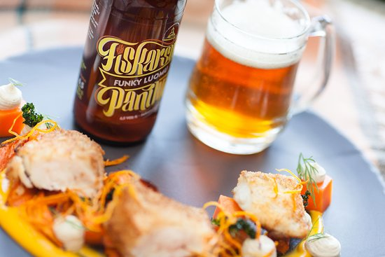 Fiskars, Finland: Beer that pairs well with food, we can help you with that.