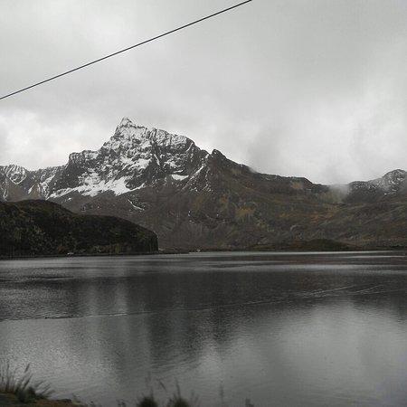 Junin Region, เปรู: Laguna huacracocha ticlio