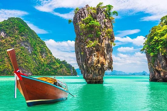 James Bond island by long tail boat...