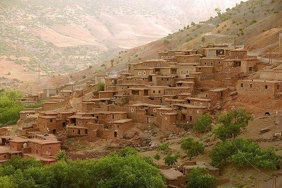 马拉喀什和骆驼骑行的阿特拉斯山脉一日游