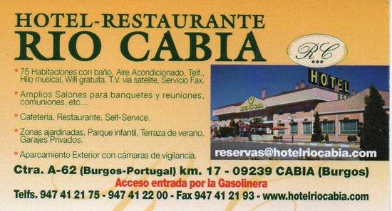 Cabia, สเปน: carte