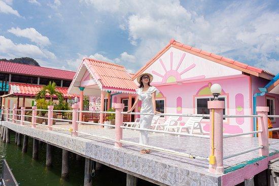 Ko Panyi, Таиланд: jamesbond bungalow Koh Panyee