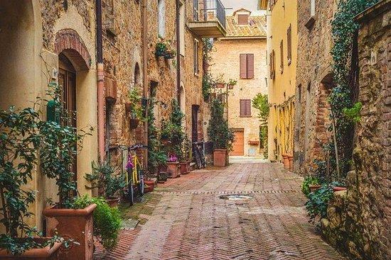 Pienza e Montalcino vinsmaking fra Roma