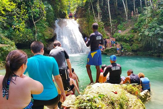 Blue Secret Falls & White River Tubing ...