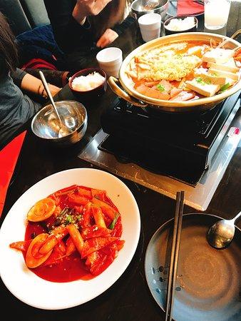 Good Korean food