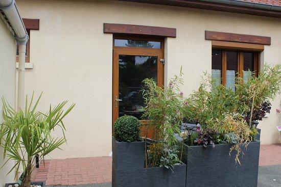 Verton, Francia: Terrasse Cosy
