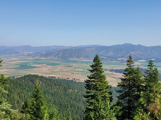 Scott Valley view from Whisky Butte in Etna, CA