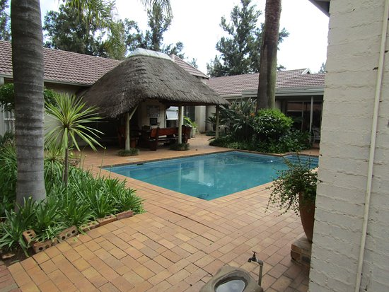 The Swimming Pool By The Lapa Entertainment Area Close To The Dining Room And Reception Area Picture Of House And Heart Guest House Vanderbijlpark Tripadvisor