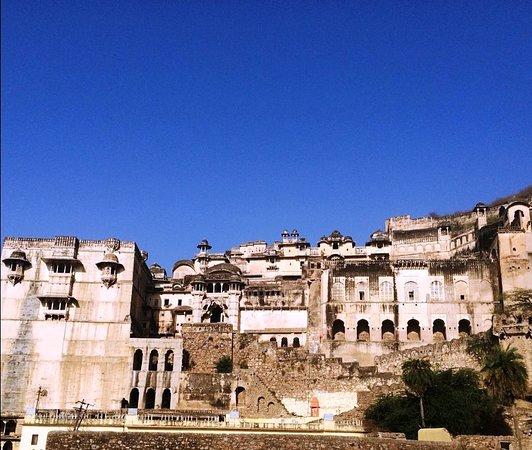 Bundi District, Indie: Bundi Palace View.
