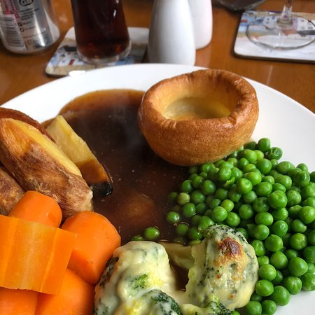 Popped in for a Sunday roast.