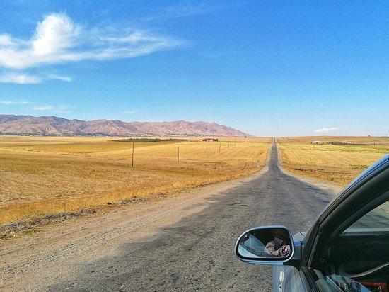 Кызыл-Кала, Узбекистан: Roadtrips are the best! Especially in the desert in Usbekistan!