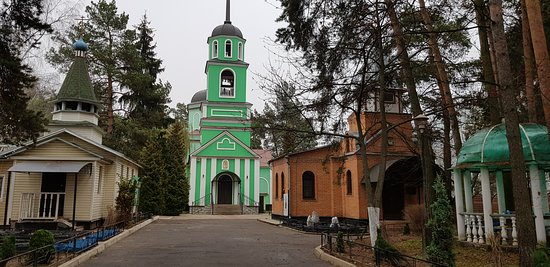 Заря. Храм-часовня в честь мученика Иоанна Воина (8 ноября 2019 года)