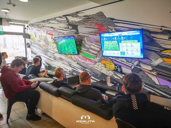 Realita gaming bar
