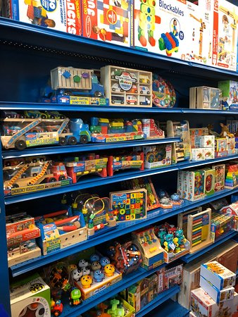 Lots and lots of toys for all ages!