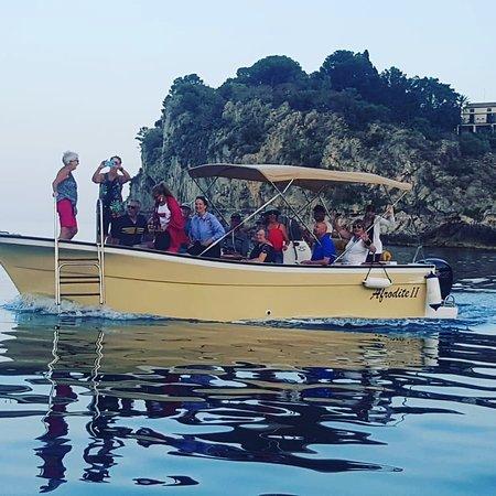 Boat Excursion at Mazzaro Bay