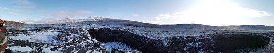 North Iceland, ไอซ์แลนด์: lava tunnel