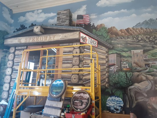 Forsyth, MT: 2 years in the making 3d mural