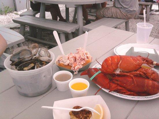 New Seabury, Массачусетс: Cape Cod Lunch