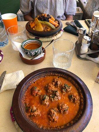 Primo pranzo a Marrakech