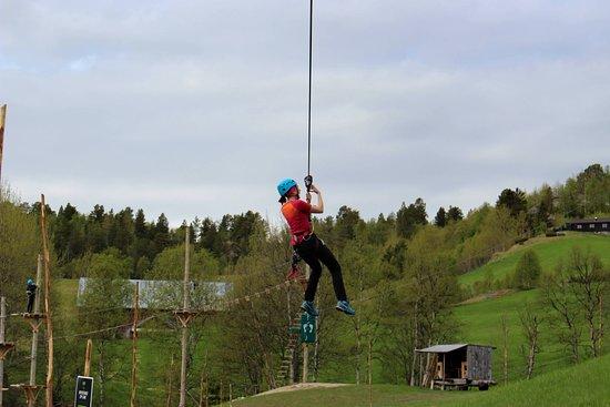 Bjorli, Noruega: Zip line
