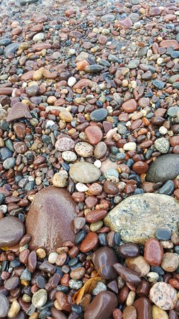 Toivola, MI: Colorful rocks, look for agates.