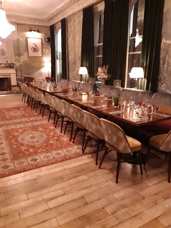 Wonderful for a private party upstairs