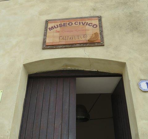 Caltavuturo, Italia: Ingresso