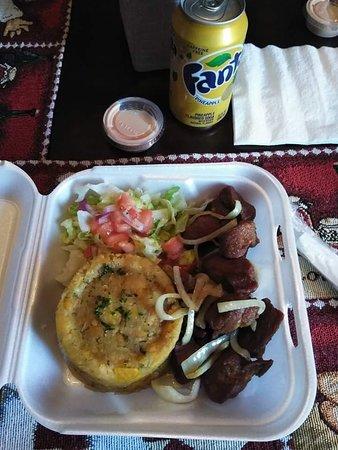 Mofongo and Carne Frita