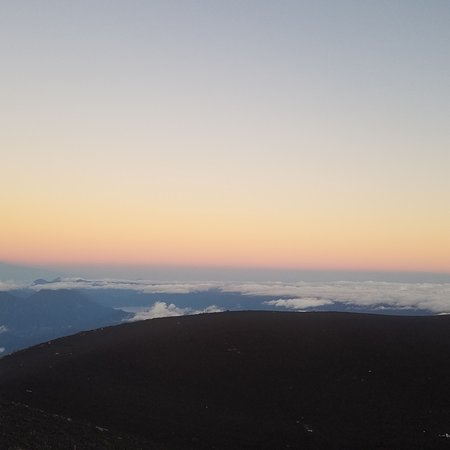 Sacatepequez Department, กัวเตมาลา: Photos from eruption and sun rise  Acatenango volcano