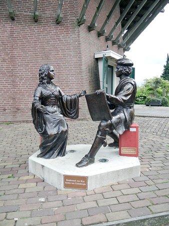Sloten, Nederland: Rembrand and Saskia