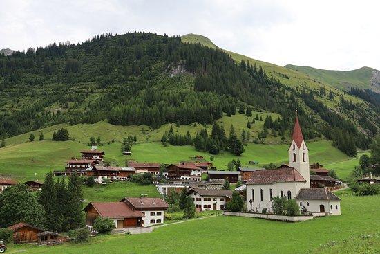 Deep in Alps Mountain, Gramais, Austria
