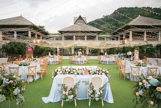 The Andaman Kitchen: wedding reception at The Andaman Lawn