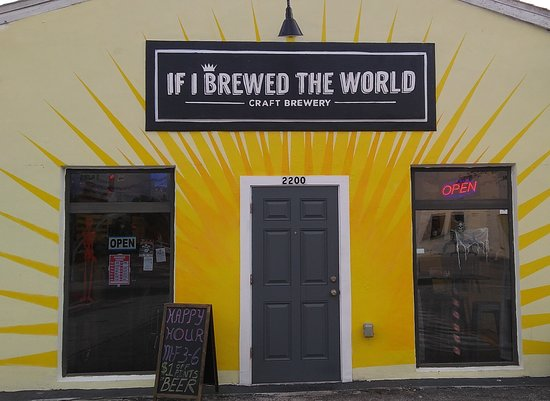 If I Brewed the World Brewery