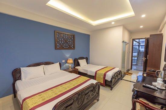Mong Cai, Вьетнам: Phòng nghỉ sạch sẽ, gọn gàng. Đầy đủ tiện nghi cần thiết.