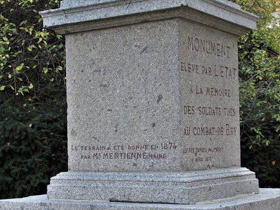 Monument aux Morts de la Guerre de 1870
