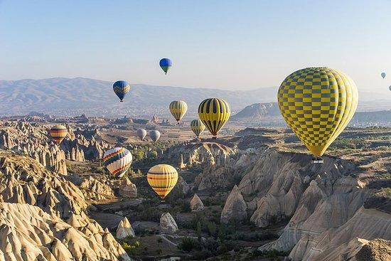 Gegarandeerd ballonvaart in Cappadocië