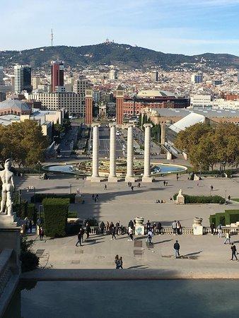 Barcelona on a beautiful sunny day!