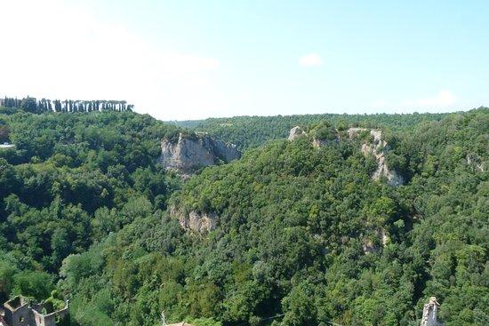 Veduta panoramica dal Masso Leopoldino