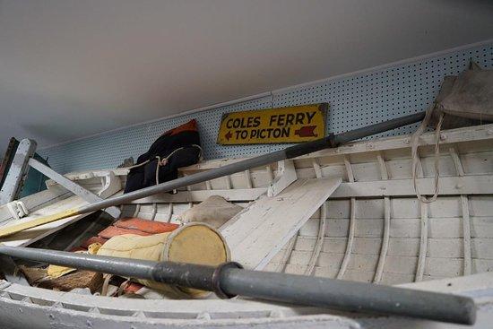 South Bay, Canada : Mariners Museum display