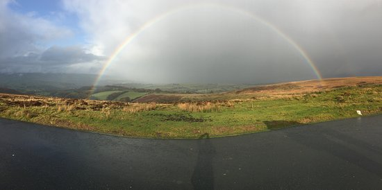 Llanllwni, UK: A view from the hills