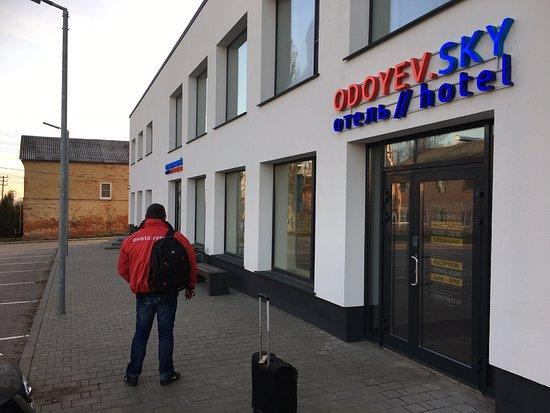 Mooi nieuw hotel in Odoyev