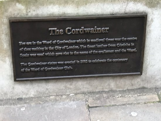 The Cordwainer Statue