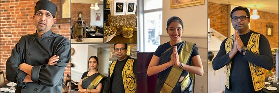 Chef Kumar and Namaste Kingston Team - Indian Culinary Experience to remember