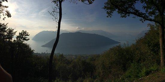 Lago D Iseo Panchina Gigante Picture Of Sale Marasino Province
