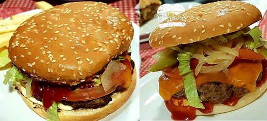 Cassana, Италия: E per i nostri piccoli clienti , anche per i nostri golosoni clienti Big : Hamburger con Manzo a km o ( trentino) 150 gr , pomodoro,lattuga,cetriolo,cipolla in agro dolce , formaggio Cheddar info. e prenotazioni 3282831002